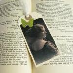 Elegant Edwardian Lady mini bookmar..